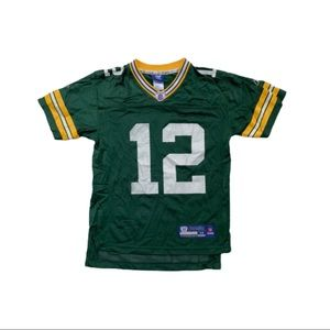 Reebok Green Bay Packers A. Rodgers jersey #12